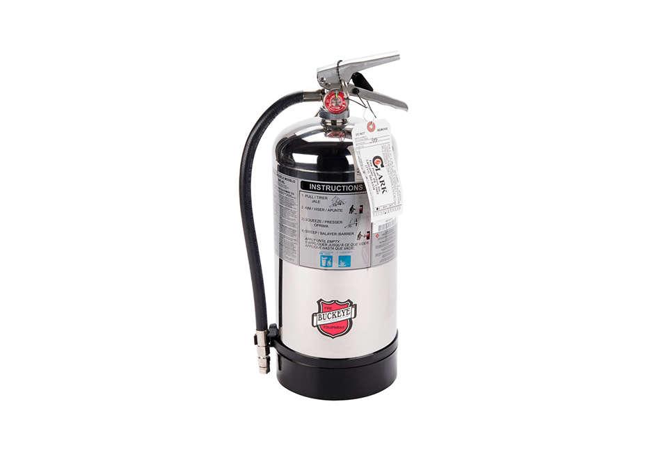 Buckeye Wet Chemical Chrome Extinguisher