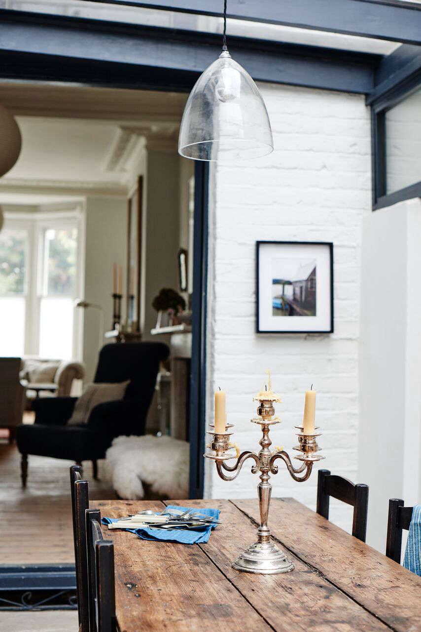 cassandra ellis peckham house dining room glass light 12