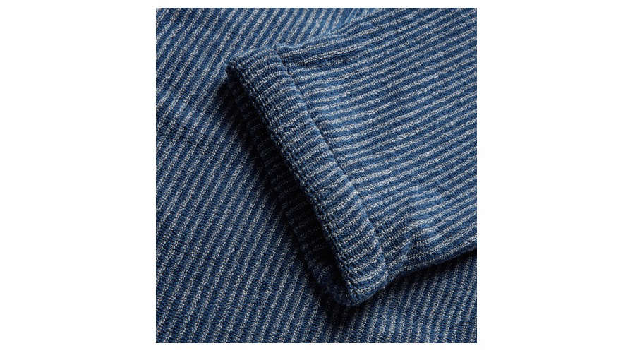 Cleverly Laundry Robe Sleve Blue