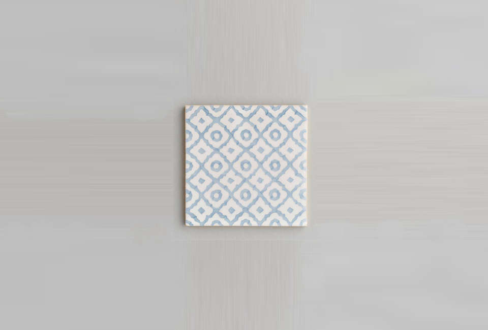 the soft color and pattern of themonchique tile. 18