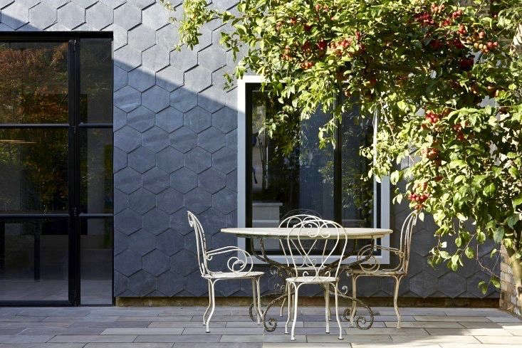 Architects Gundry & Ducker used double-glazed steel windows from Clement Windows in the UK on this home featured in Steal This Look: A House with Slate Shingle Siding. Photograph by Hufton & Crow,courtesy of Gundry & Ducker.