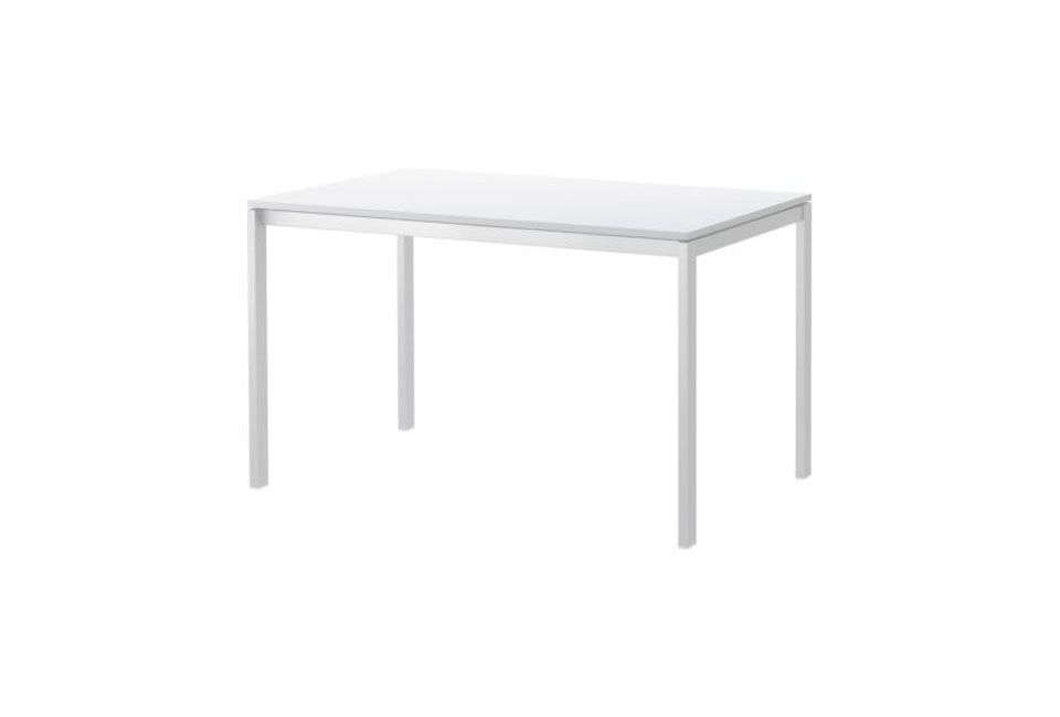 TheMelltorp White Kitchen Table is similar to the DIY table that Renée and Holly made in the kitchen; $65 at Ikea.