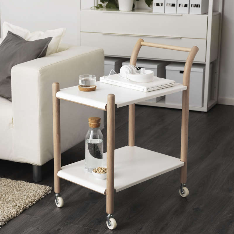 HighLow The Scandi Drinks Trolley Ikea and Alvar Aalto Editions Ikea PS 2017 Side Table Castors
