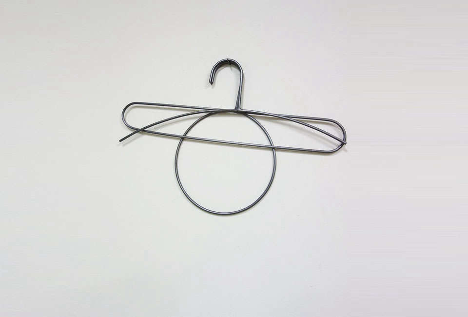iko iko handmade steel clothes hangers 9