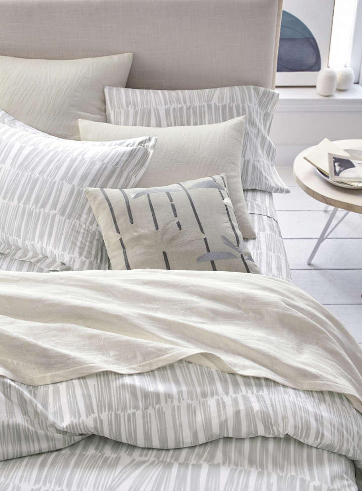 the silver bedding package includes a brushstroke matelassé coverlet (\$\2\28  10