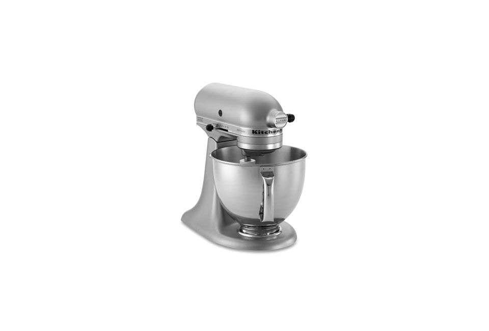 The KitchenAid Artisan Stand Mixer in Silver Metallic is $350 at Williams-Sonoma.