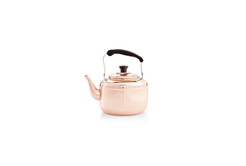 The Martha Stewart Collection Heirloom Copper Tea Kettle is $99.99 at Macy&#8