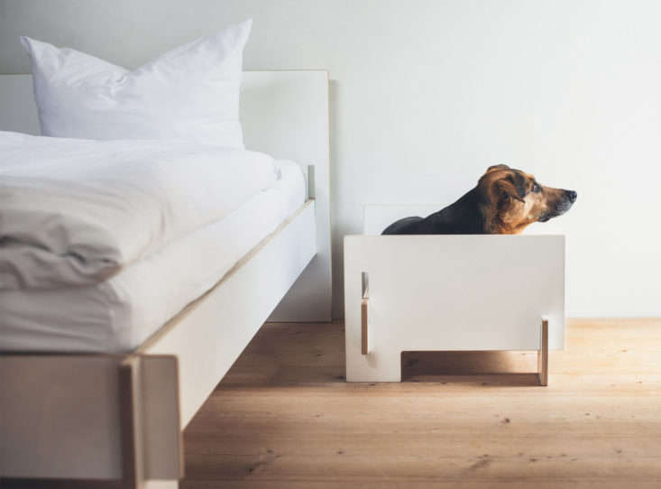 from german designer nils holger moorman, the siebenschlafer bed is made from i 13