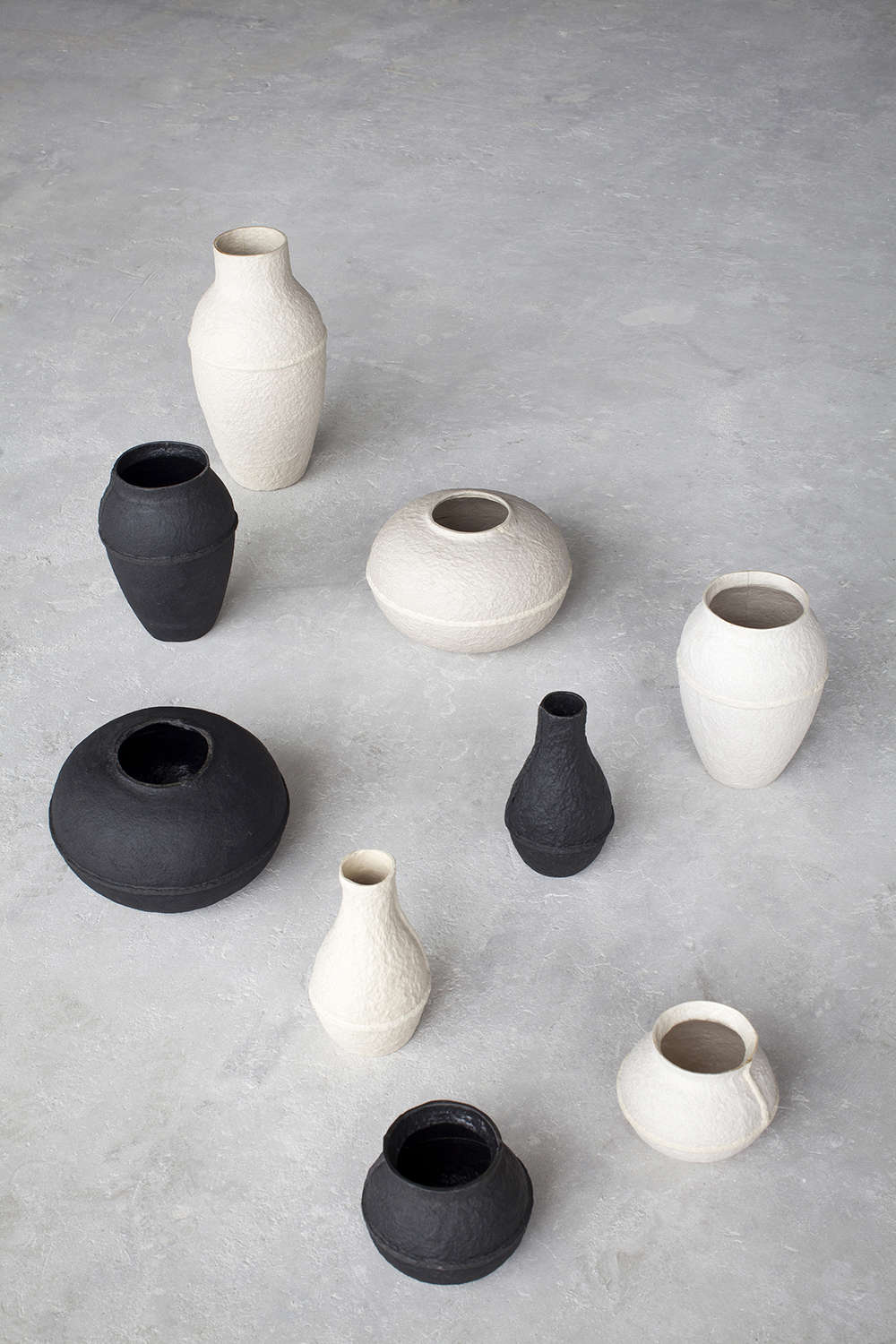 From designer Debbie Wijskamp, aWhite XL Paper Pulp Vase is €54. at Serax. For more, see Yesterday&#8