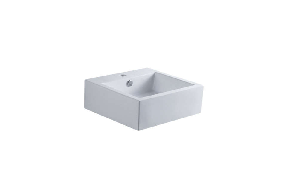Sierra White China Vessel Bathroom Sink