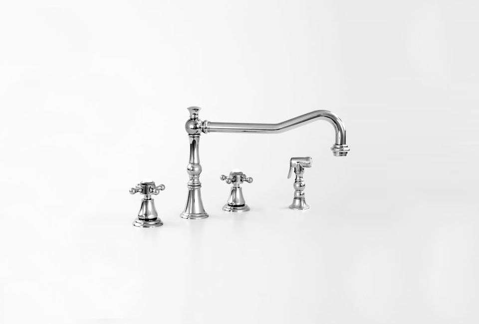 The Sigma Series 350 Widespread Kitchen Faucet is $566 at Quality Bath.