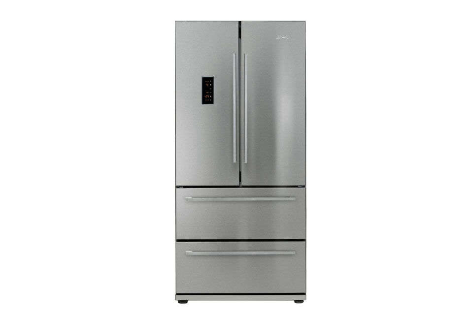 The Smeg FQ55FX French Door Refrigerator is a UK model, available for £loading=