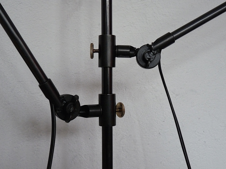 A detail of the Anvers Two Arm Lamp&#8