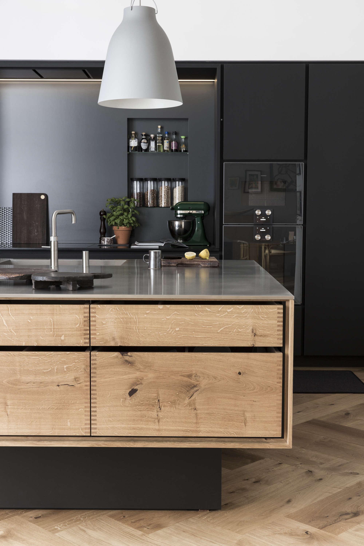 wood island stainless steel countertops denmark garde hvalsoe 10