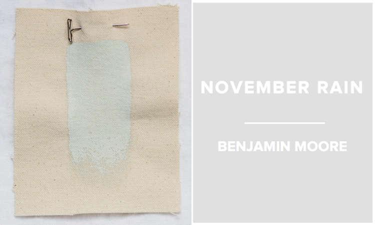 Benjamin Moore November rain