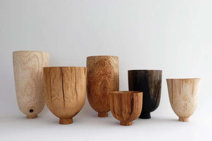 a sampling of vessels in various british woods, including bog oak. 11