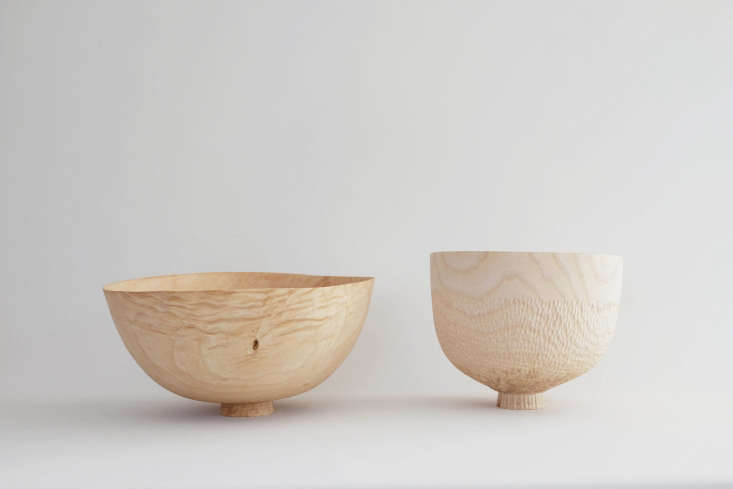 a duo of vessels werefashioned from stormed felled ash. 9