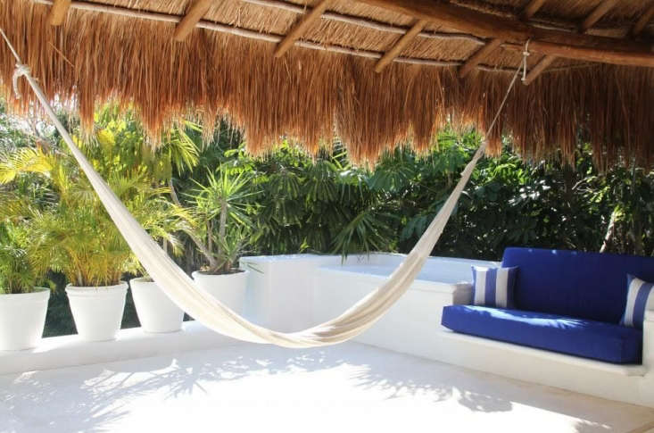 Hotel Esencia Secluded Splendor on the Maya Riviera A traditional hammock.