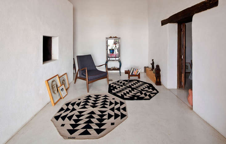 Above; A pair of rugs from Bi Yuu&#8