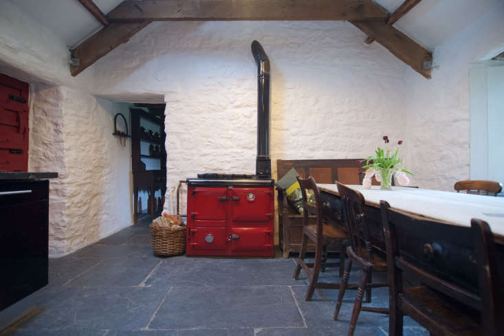 bowen installed a spacious modern kitchen in the adjoining cowshed. 13