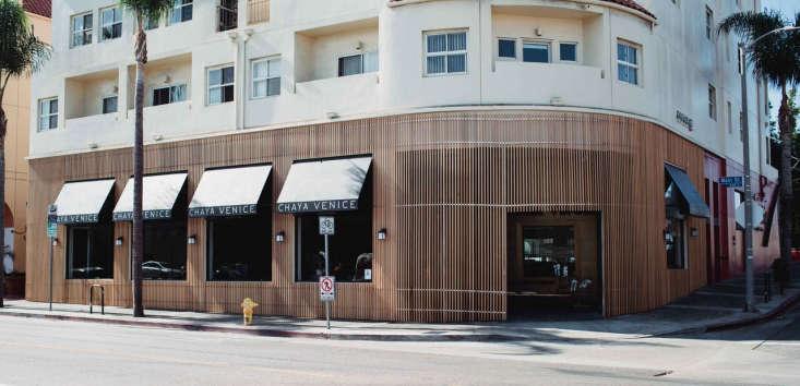 Chaya Venice A Landmark LA Restaurant Redesigned for the Modern Era Chaya Venice, near Venice Beach in Los Angeles.