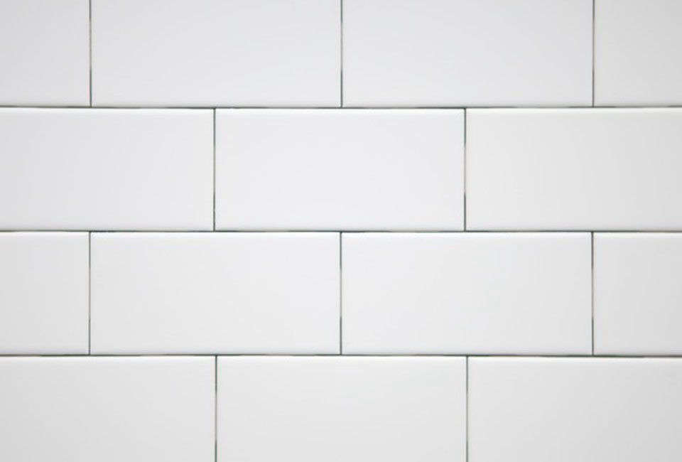 Three-by-six-inch ceramic subway tile is available from Subway Ceramics.