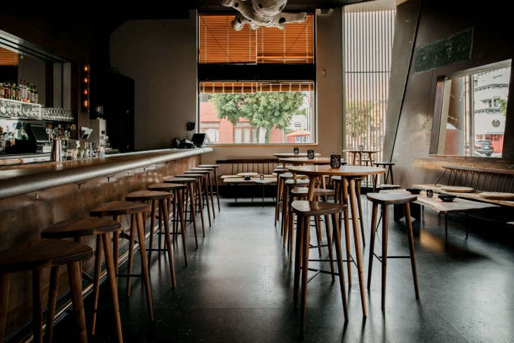 Chaya Venice A Landmark LA Restaurant Redesigned for the Modern Era The revamped Kaisen Bar, now used to serve daily selections of fresh Japanese fish.