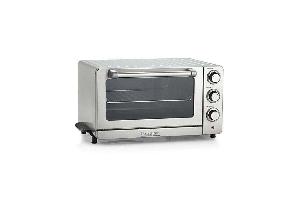 the cuisinart convection toaster oven broiler has bake, broil, toast, and conve 16