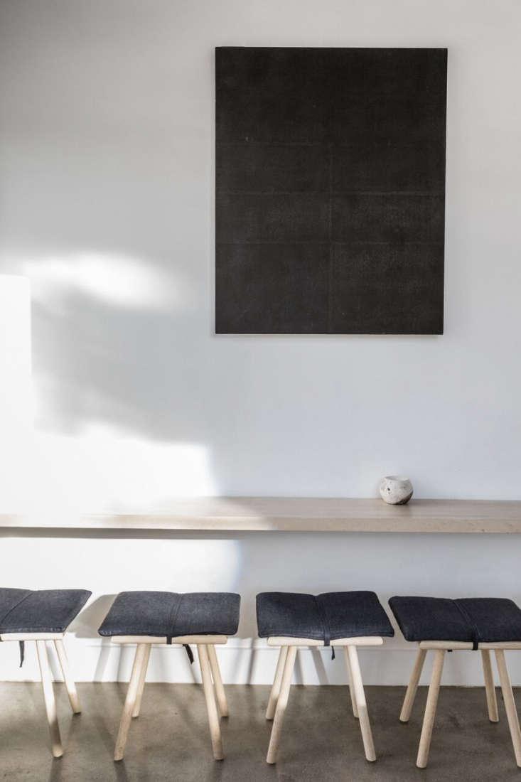the pale oak furniture is by a friend of kahn&#8\2\17;sat the dmc factory 14