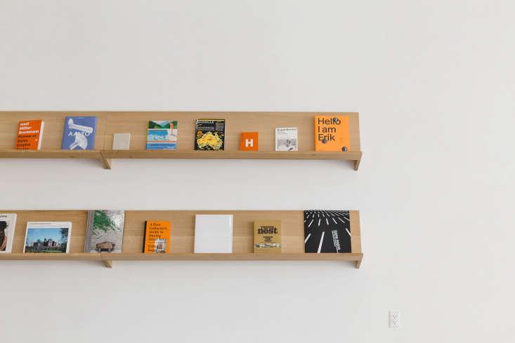a built in shelf holdsdesign books for sale. 11