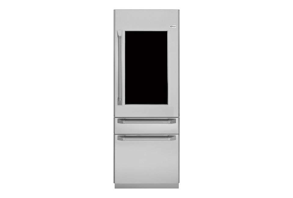 Available in May , Frigidaire is launching the Frigidaire Professional Glass Door Refrigerator with an interior light on a motion sensor. Learn more about the upcoming release at Electrolux.