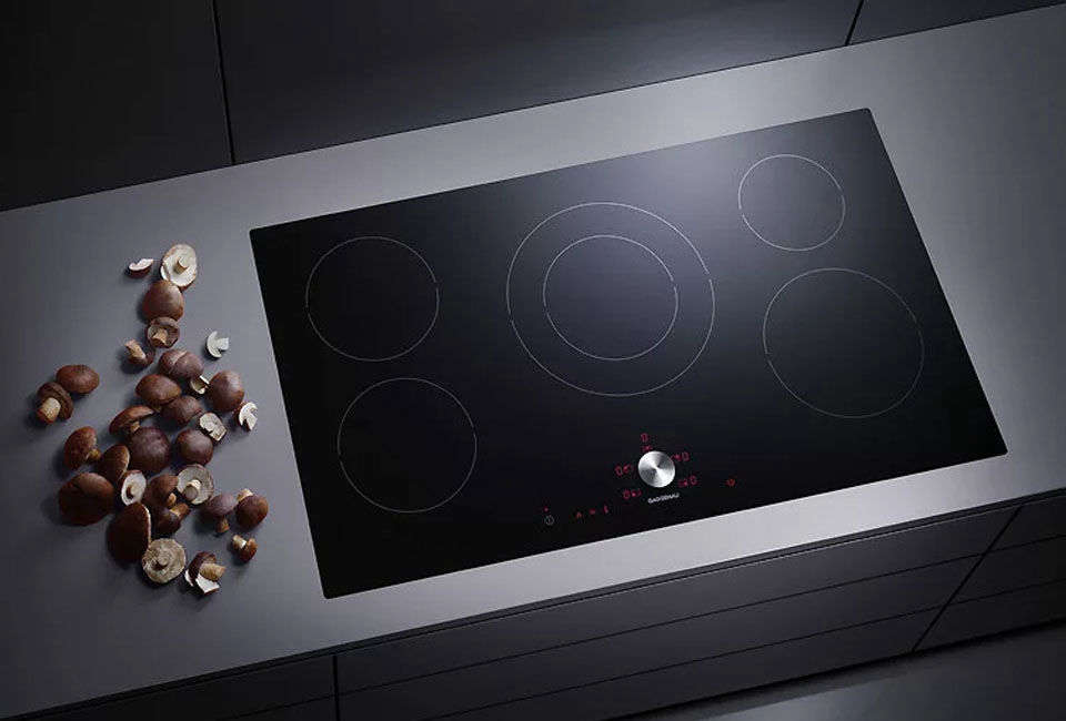 The Gaggenau 36-Inch Induction Cooktop is available on special order from AJ Madison.