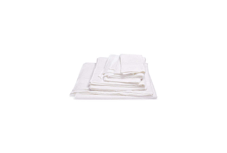 The Hamam Bamboo Towels in White range from $ for the washcloth to $5 for the large bath sheet at ABC Carpet & Home.