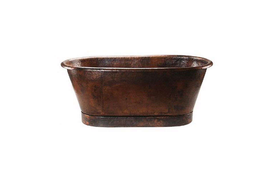 the premier copper 7\2 inch bathtub is made of recycled \16 gauge copper that i 19