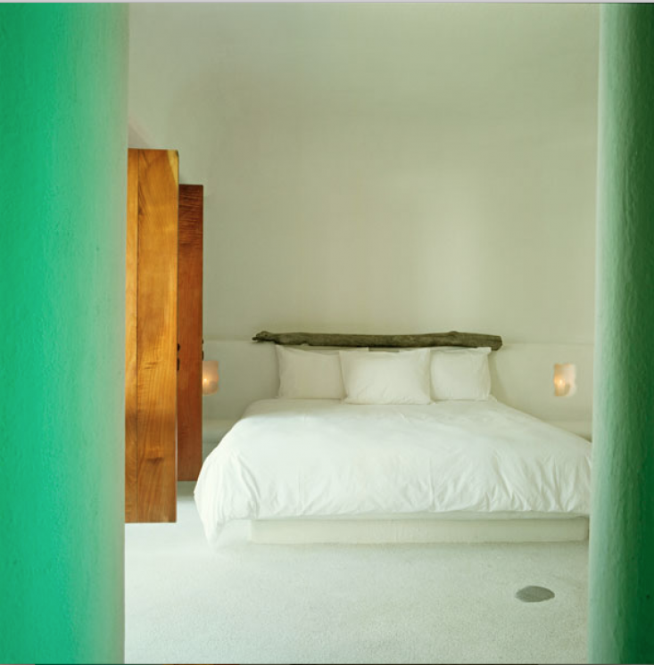 At the bungalow-chic Hotel Azucar in Veracruz, a bright doorway opens to an all-white guest room. For more, seeHotels & Lodging: Hotel Azucar in Veracruz.