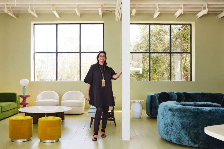 Parisian designer India Mahdavi hits the West Coast; her furniture line can now be found at Ralph Pucci in Los Angeles and experienced in situ at the city&#8
