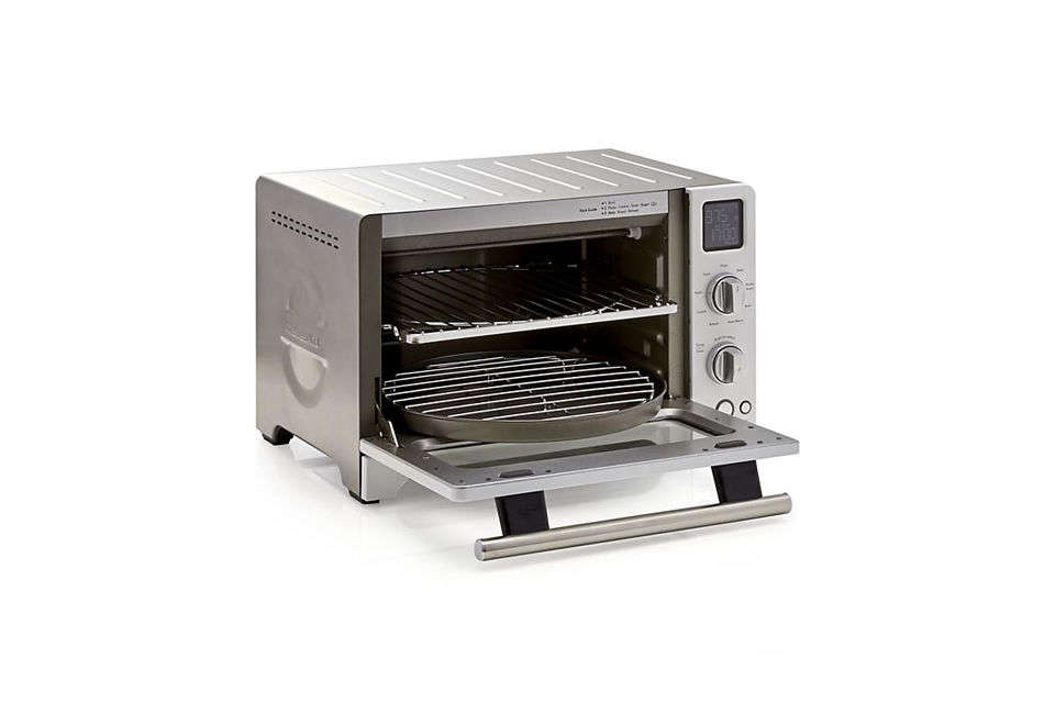 the kitchenaid digital convection oven comes with two \1\2 inch round pans and� 13