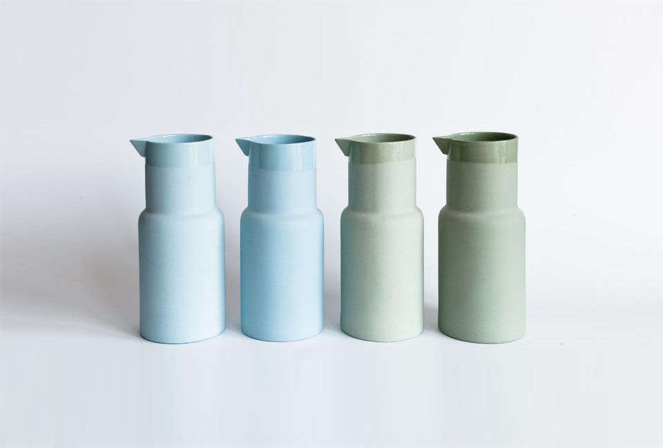 Also by Lenneke Wispelwey, the Mr Right Carafe is £loading=