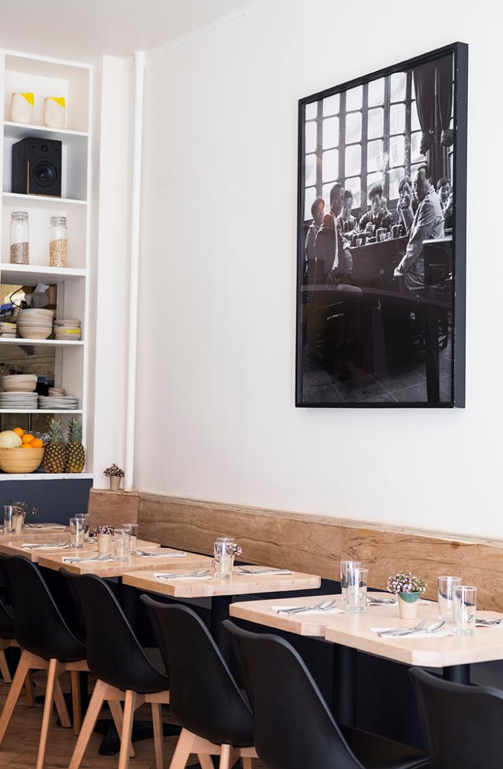 aciar designed the cafehimself. 9