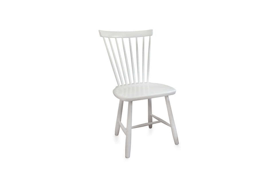 The Lilla Åland Solid Birch Chair, designed by Carl Malmsten, is Michelle&#8