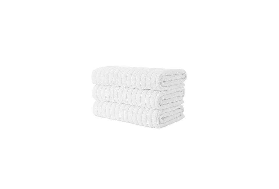 A set of three Maxima Turkish Combed Cotton Bath Sheets is $58.49 at Overstock.com.