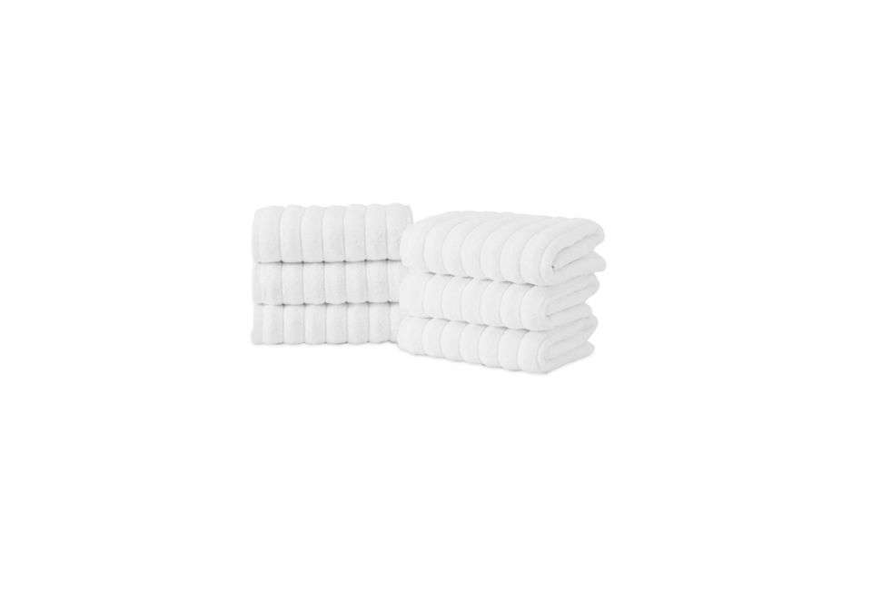 A set of six Maxima Turkish Combed Cotton Hand Towels is $38.49 on Overstock.com