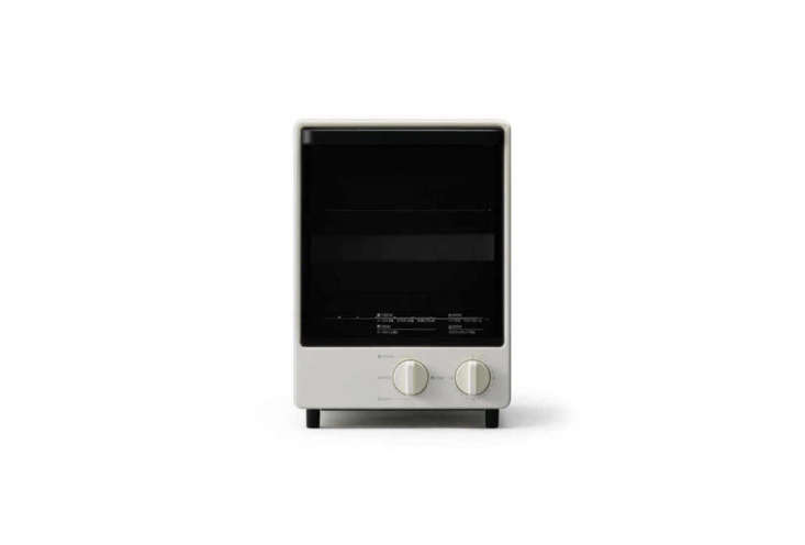 designed by naoto fukasawa for muji, the moma muji vertical toaster oven is a j 9