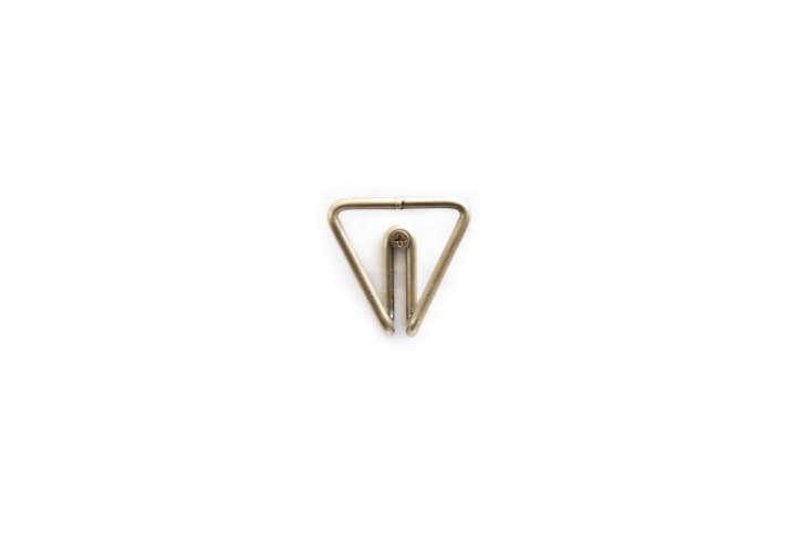 Wire Hook Brass, shown in Triangle, is $.