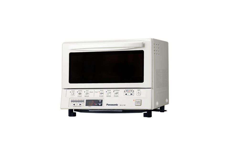 consumer reviews across the web deem the panasonic flash xpress toaster oven, s 19