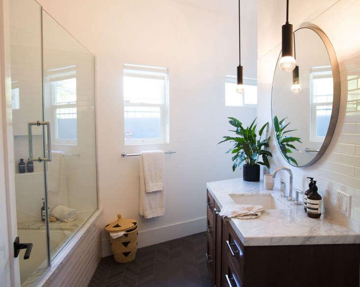 an angular bathroom. 24