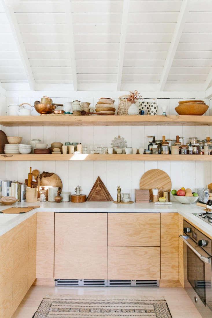 plywood cabinetry in serena mitnik miller&#8\2\17;s kitchen. see kitchen of 30