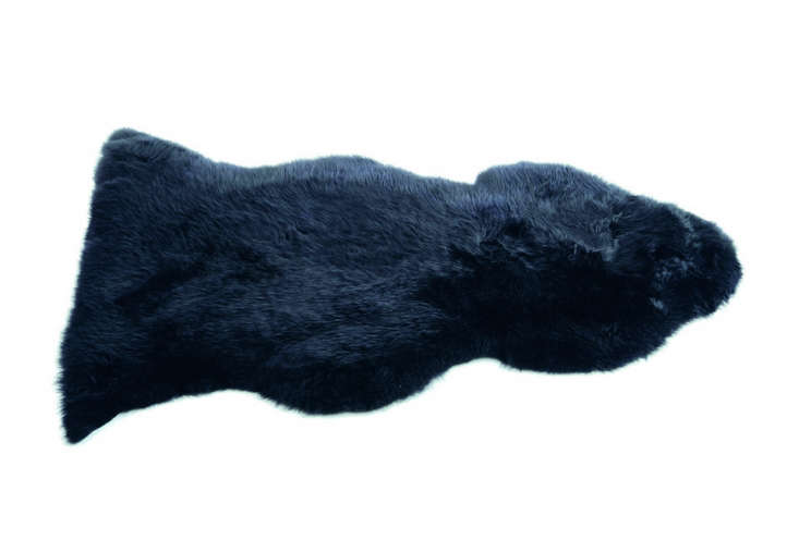 a dark and moody option: anotherlinn sheepskin, this time in black. 14
