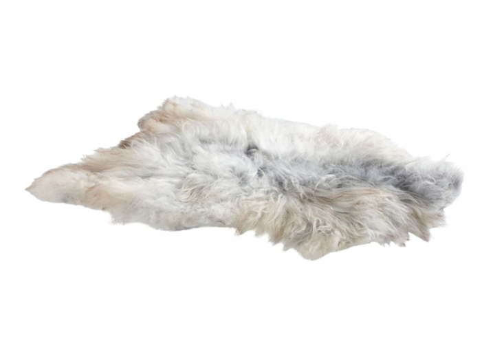 the natural looking trondheim sheepskin makes an excellent rug or throw. 12