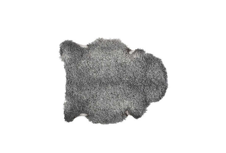 for small spaces, we like the petite visby sheepskin. 13